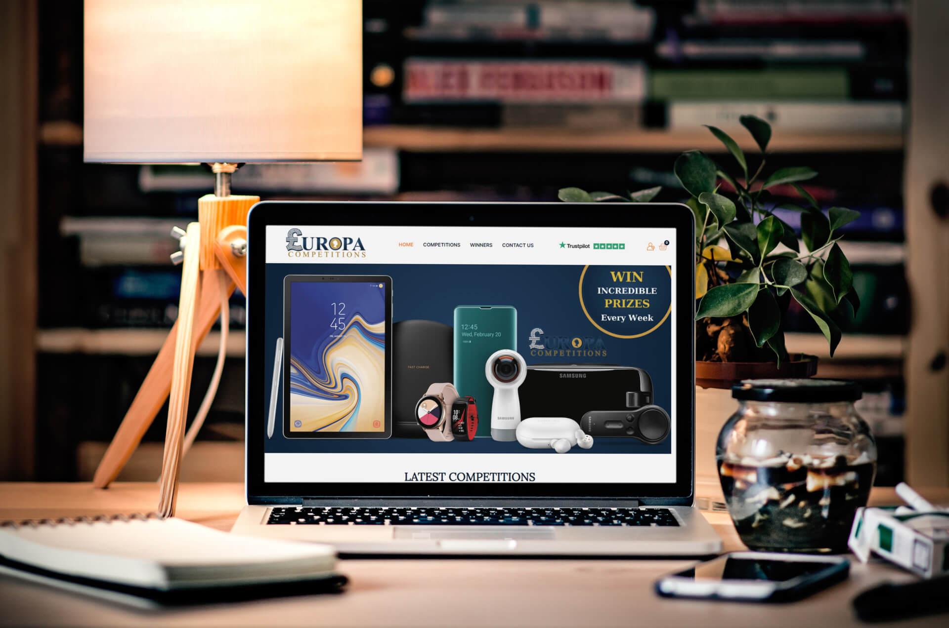 Brochure Website Design 1