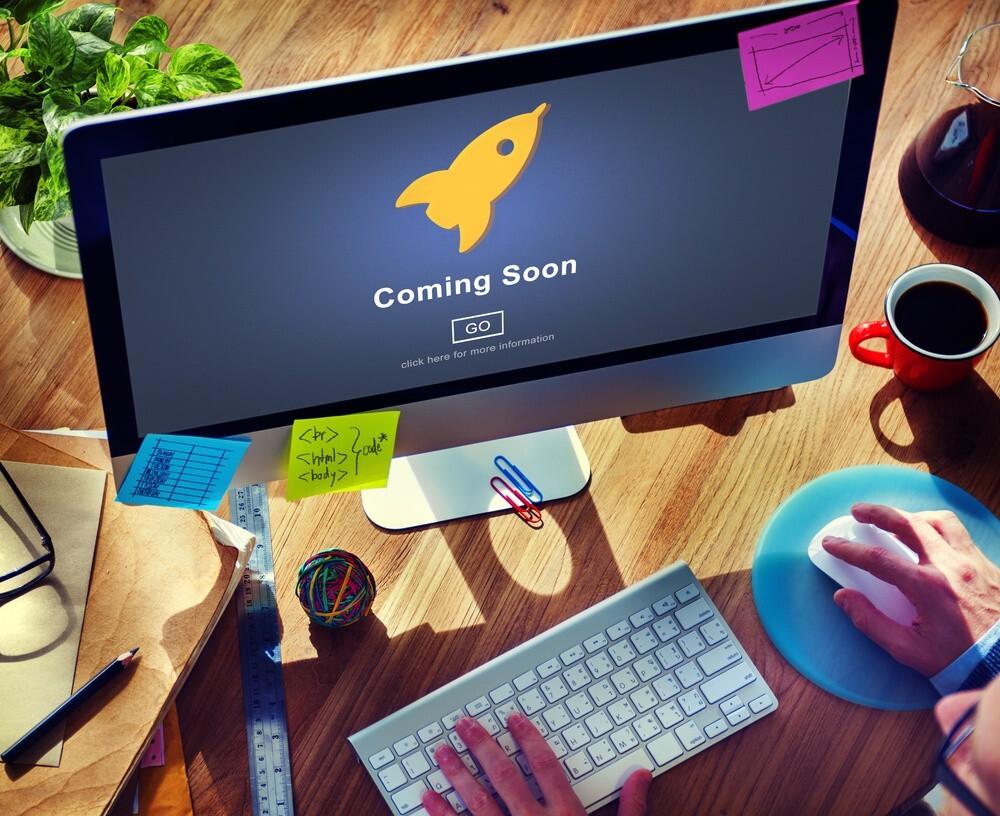 Web site launch
